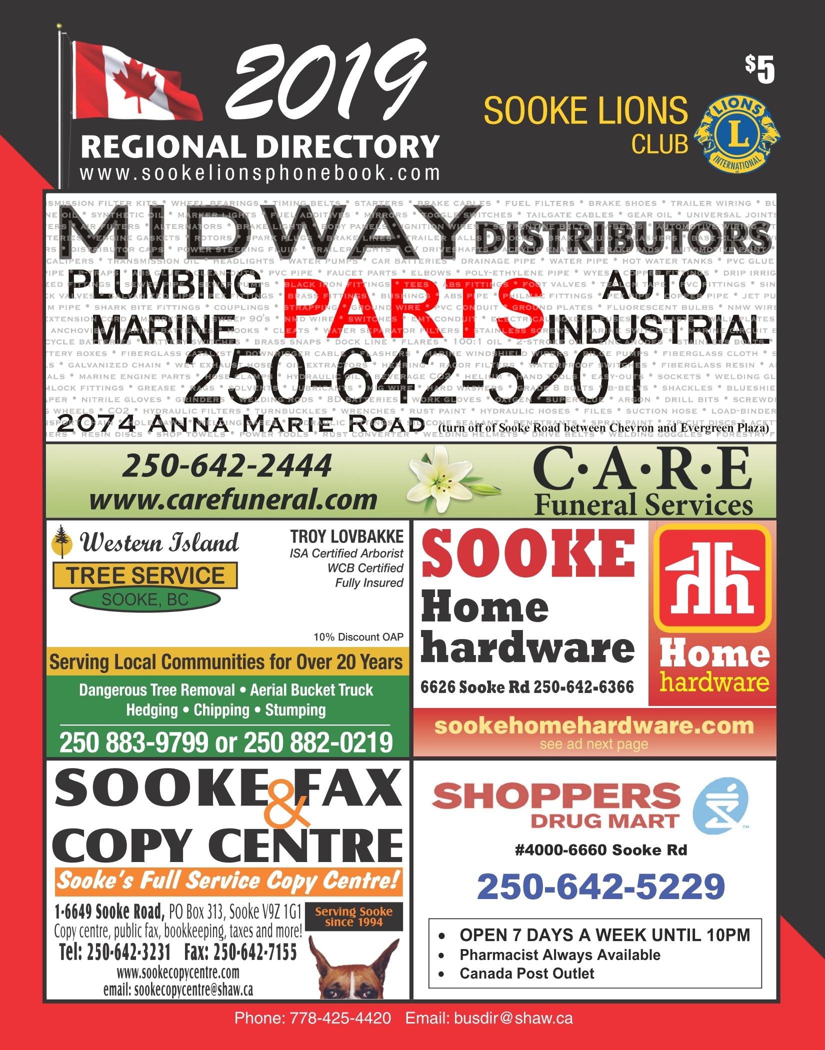 Sooke Lions Regional Directory